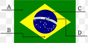 Vin Diesel - Flag Of Brazil Color National Flag PNG