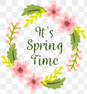 Greeting Card Greeting - Floral Spring Flowers PNG