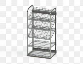 Display Rack - Shelf Furniture Steel PNG