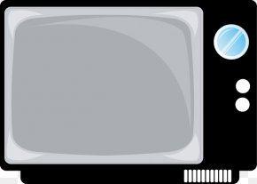 Vector Black And White TV - Television Show Black And White PNG