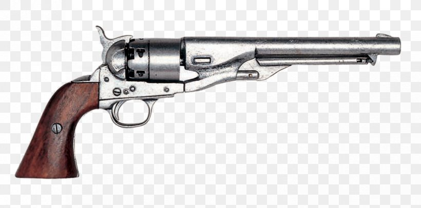 Colt 1851 Navy Revolver Colt Single Action Army Colt Army Model 1860 Firearm, PNG, 826x409px, 45 Acp, 45 Colt, 357 Magnum, Revolver, Air Gun Download Free