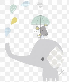 Cartoon Baby Elephant - Elephant Infant Child Hathi Jr. Illustration PNG