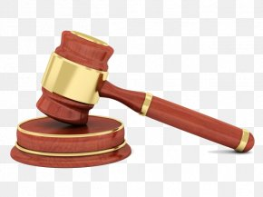 Judge Hammer - Gavel Court Judge Legal Case Clip Art PNG