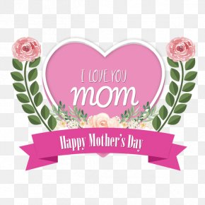 Mother's Day - Mother's Day Greetings Love PNG