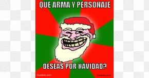 Santa Claus - Santa Claus Christmas Day Internet Troll Gratitude Person PNG