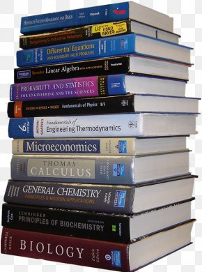 Stack Of Books Ornament - Textbook College School Student PNG