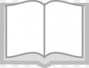 Book Of Images - Black And White Book Cover Clip Art PNG