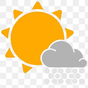 Weather Snow Icon - Weather Forecasting Cloud Clip Art PNG