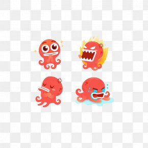 Cute Baby Octopus Face - Download Octopus Card Clip Art PNG