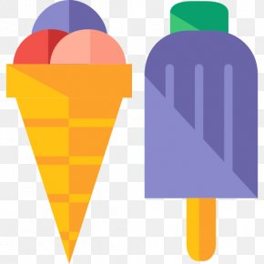 Ice Cream - Ice Cream Cone Ice Pop PNG