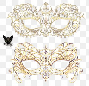 Carnival Mask - Carnival Of Venice Mask Masquerade Ball Jewellery PNG