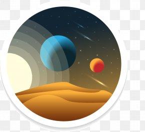 Vector Outer Space - Planet Euclidean Vector PNG