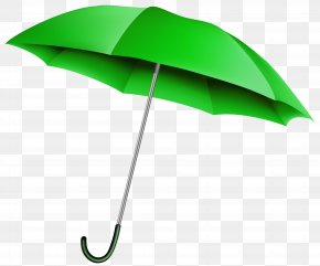 Green Umbrella Transparent Clip Art Image - Umbrella Clip Art PNG