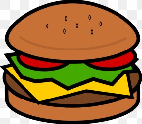 Hamburger Cliparts - Hamburger Hot Dog Cheeseburger Fast Food Clip Art PNG
