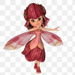 Fairy - Tinker Bell Fairy Elf Doll Gnome PNG