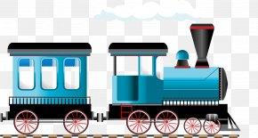 Cartoon Train - India Throw Pillow Cushion Archies PNG