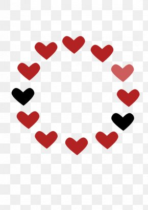 Red Love Heart Pictures - Love Heart Romance Clip Art PNG