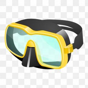 Scuba Diving Art - Diving Mask Scuba Diving Underwater Diving Snorkeling Clip Art PNG