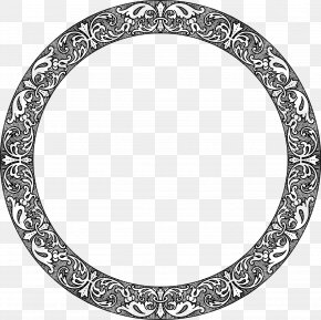 Circle Frame - Picture Frames Window Decorative Arts Clip Art PNG