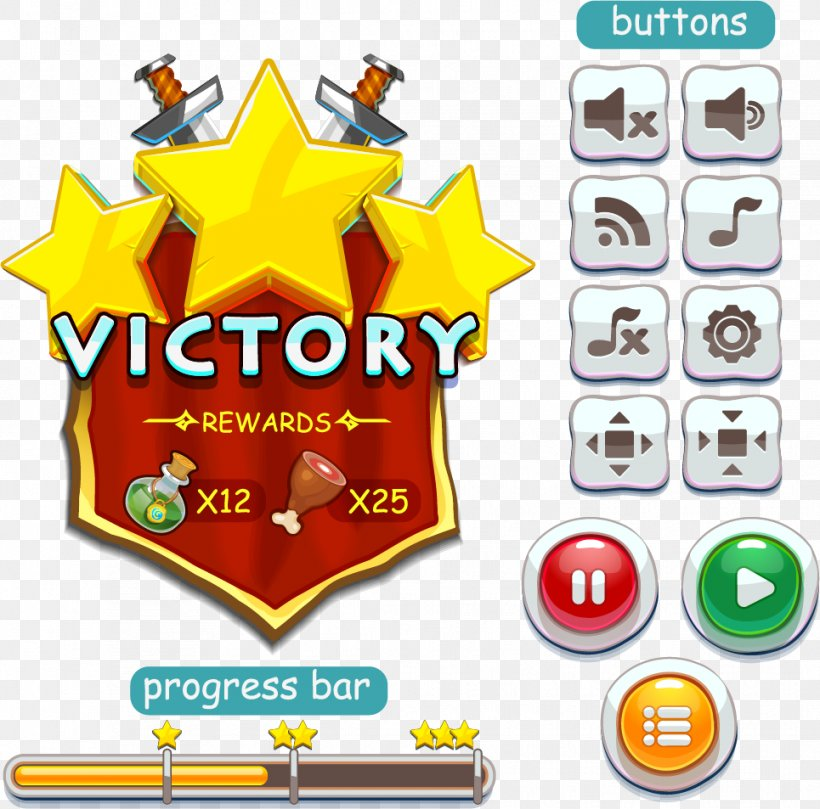 User Interface Design Button Game, PNG, 965x953px, User Interface, Area, Brand, Button, Clip Art Download Free