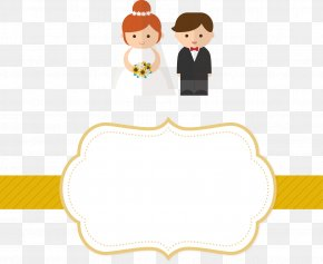 Vector Wedding Invitation Label - Wedding Invitation Marriage Clip Art PNG
