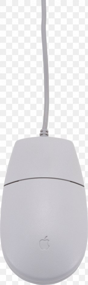 White Computer Mouse Image - White PNG