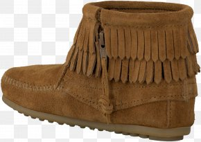 Fringe - Footwear Suede Shoe Tan Boot PNG