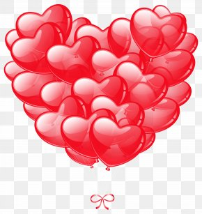 Transparent Heart Balloons Image - Balloon Heart Stock Photography Clip Art PNG