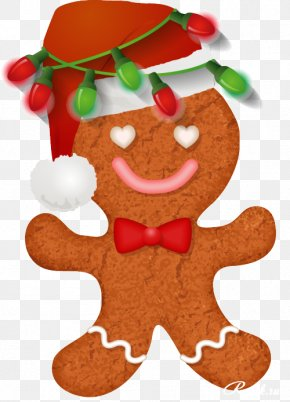 Christmas - Gingerbread Christmas Ornament Lebkuchen Clip Art PNG