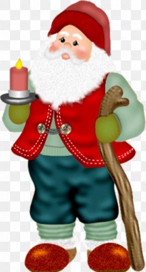 Cartoon Painted Red Bearded Man - Santa Claus Ded Moroz Christmas Ornament Beard PNG