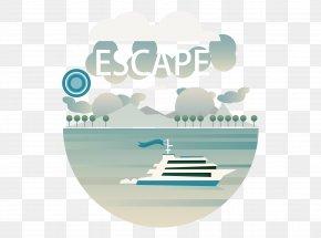 Sea Yacht - Flat Design User Interface PNG