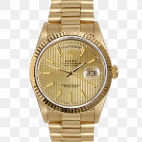 Watches - Rolex Datejust Rolex Day-Date Watch Gold PNG