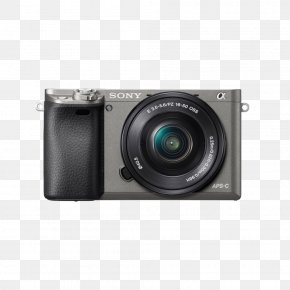 Sony A6000 - Sony α6000 Mirrorless Interchangeable-lens Camera 索尼 APS-C PNG