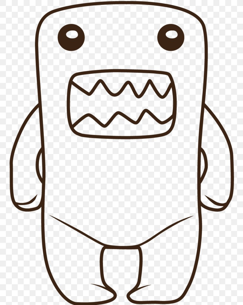 Domo Drawing Hello Kitty Coloring Book Png 776x1030px