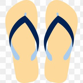 Images Of Flip Flops - Flip-flops Sandal Clip Art PNG