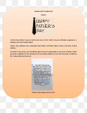 Fathers Day - Father's Day ParamCARE Foundation Memorial Day Veterans Day June PNG