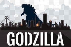 Godzilla Monster Vector Illustration - Godzilla Film Poster Film Poster PNG