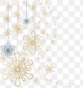 Snowflake - Snowflake Christmas PNG