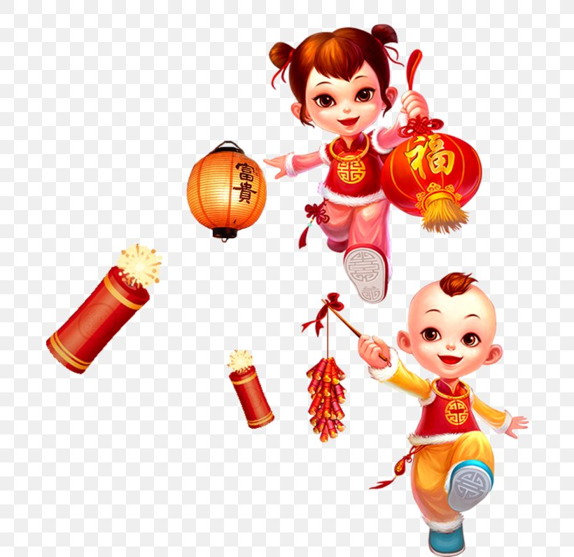 Chinese New Year Lantern Festival Clip Art, PNG, 750x795px, Chinese New Year, Child, Doll, Drawing, Festival Download Free
