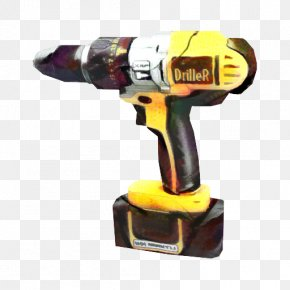 Power Tool Drill Accessories - Hammer Cartoon PNG