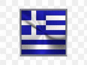 Metal Square - Flag Of Greece Greek War Of Independence Flag Patch PNG