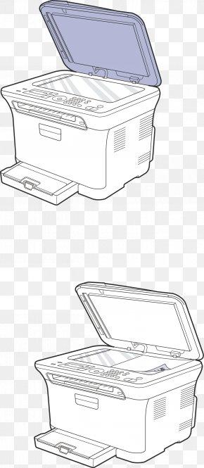 Vector Printer - Printer Drawing Font PNG
