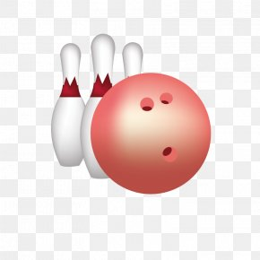 Hand-painted Bowling - Ball Game Sport PNG