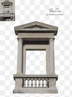Balcony - Facade Column Balcony Building PNG