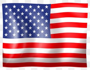 USA Flag Clipart - Flag Of The United States Computer File PNG