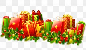 Christmas Gift - Gift Sharing Clip Art PNG