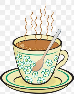 Tea Cup - Heat Transfer Thermal Conduction Convection Clip Art PNG