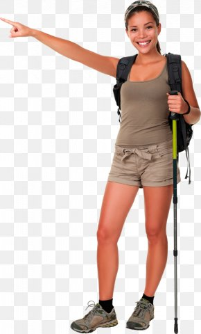 Woman - Hiking Boot Stock Photography Backpacking PNG