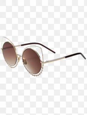 Colorful Sunglasses - Eyewear Sunglasses Goggles Cat Eye Glasses PNG