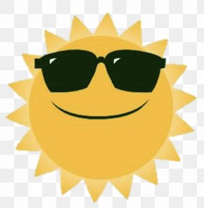 Happy Sunshine - Smiley Sunlight Clip Art PNG